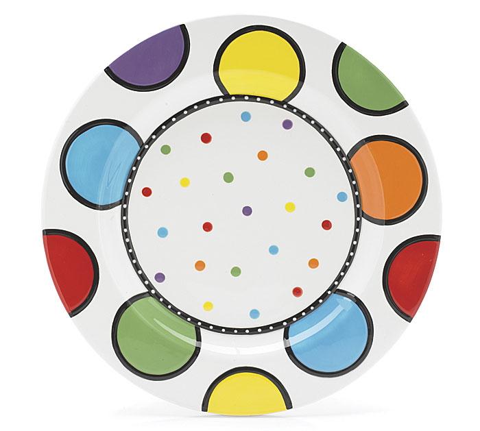 11 Diameter Ceramic Plate (No Wording)
