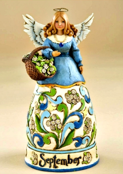 September Birthday Month Angel by Jim Shore Heartwood Creek**SOLD OUT**