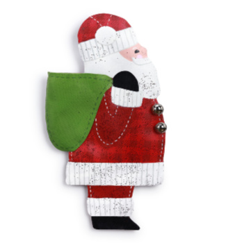 Santa with Pocket Door Hanger **NEW - NOW AVAILABLE**