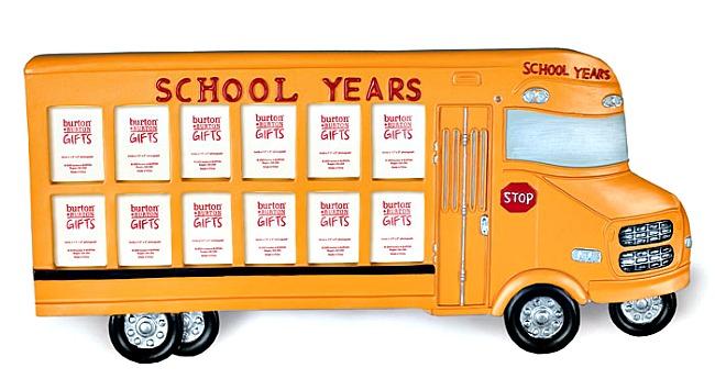 School Years Bus Frame