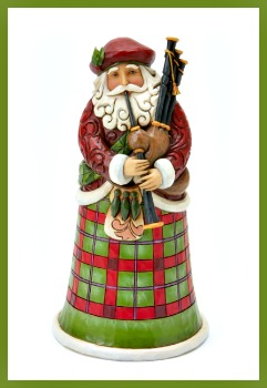 Scottish Santa Figurine by Jim Shore Heartwood Creek **SOLD OUT**
