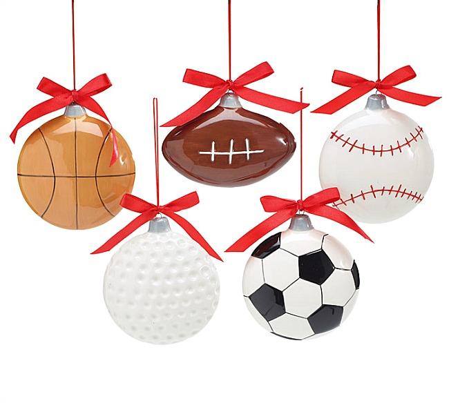 Ceramic Sports Ornaments