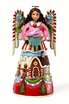 Season's Sweetings Sweets Angel Figurine **SOLD OUT**
