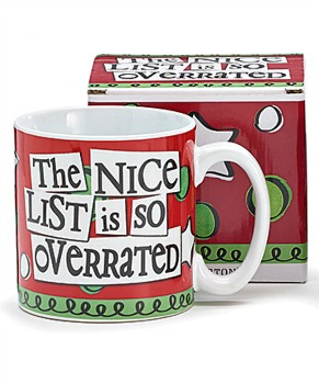 The Nice List is so Overrated Christmas Mug