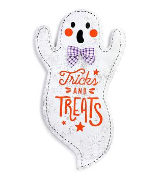 Tricks & Treats Ghost Door Hanger **NEW - NOW AVAILABLE**