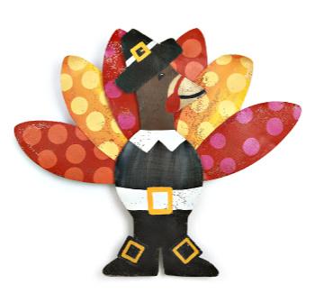 Tuxedo Turkey Door Hanger **NEW - NOW AVAILABLE**