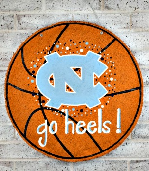 UNC Go Heels Basketball Burlee